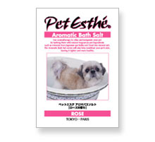 Pet Esthé Aromatic Bath Salt Senteur de roses
